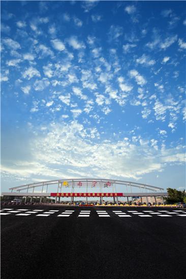 广西路建集团承建广西沿海高速南宁南收费站