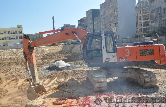 防城港市防城区4个项目集中开工 总投资约6亿元
