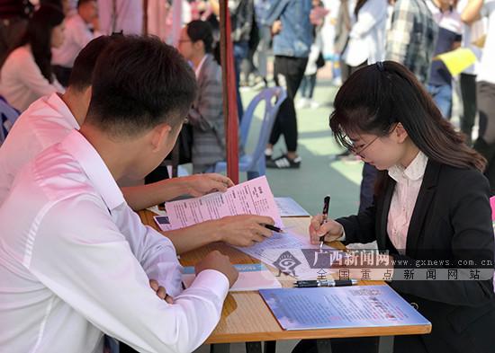 广西2019届高校毕业生双选会首站活动举行