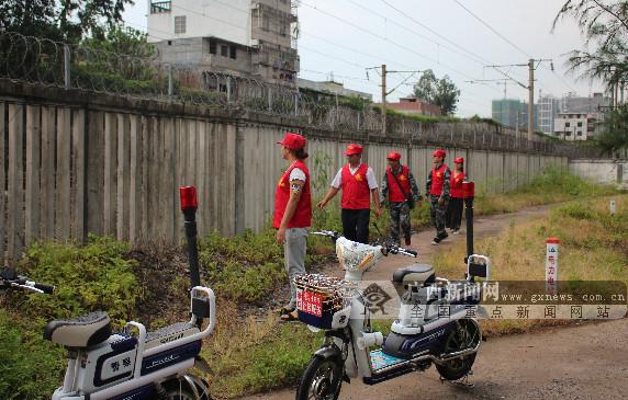 广西:港口桃花湾社区护路工作获肯定 辖区划分14个网格