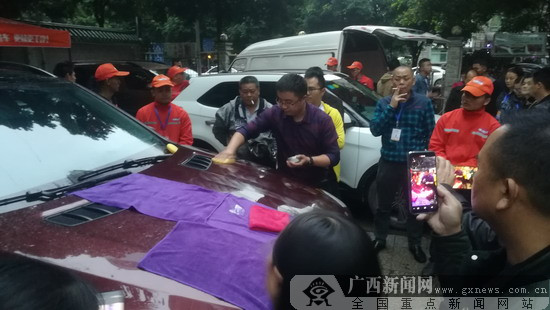 环保微水洗车来到广西 市民洗车更方便