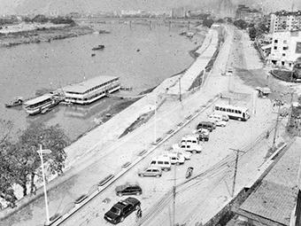 高清组图:邕江穿城而过 见证两岸变迁
