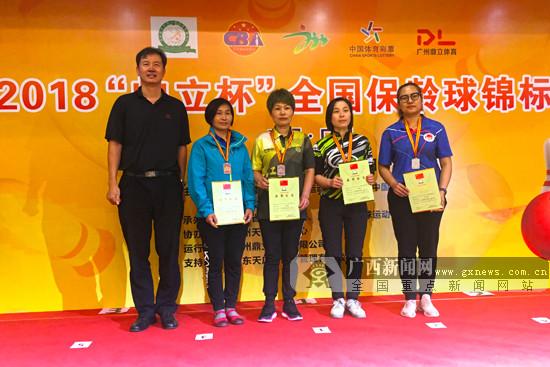2018全国保龄球锦标赛落幕 广西队创近年最好成绩
