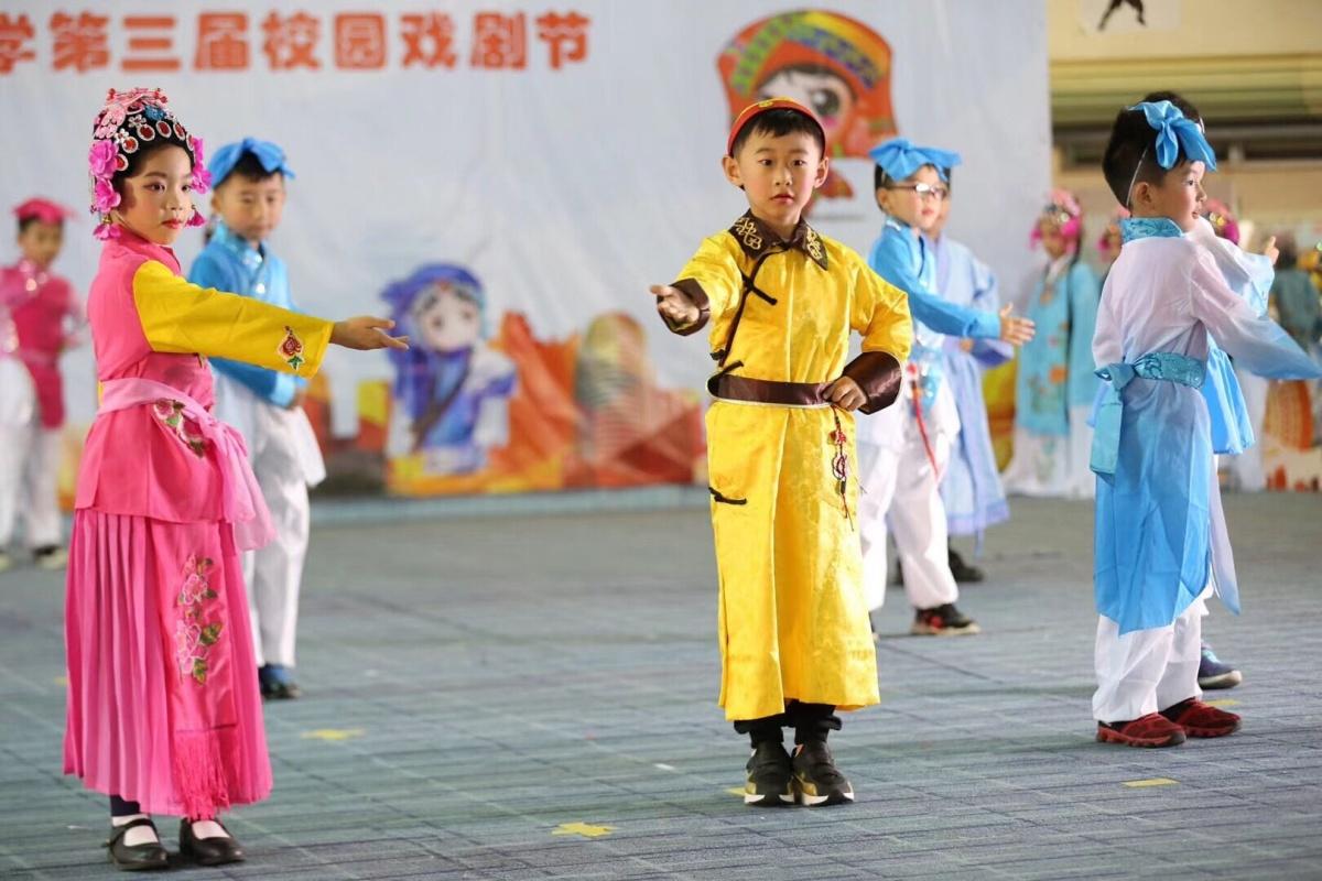 一饱眼福!桂雅路小学举行第三届校园戏剧节(图)