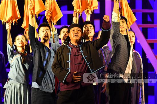 音乐剧《木棉红了》在南宁上演