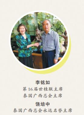 我与台北同学聊广西