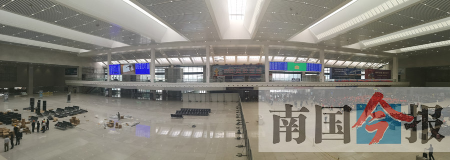柳州火车站高架候车室12月6日起全面启用