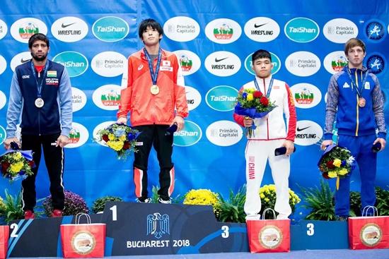 广西2名摔跤手在U23世界摔跤锦标赛摘铜实现突破
