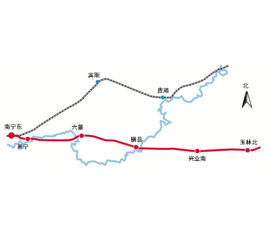 12月13日焦点图:南宁至玉林有望开建高铁