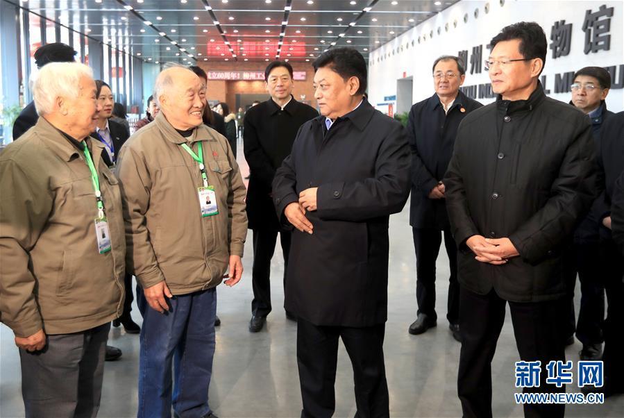 白玛赤林率中央代表团四分团在柳州看望慰问各族各界干部群众
