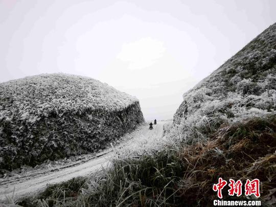 图为风景秀丽的环江县龙岩乡朝阁万亩草甸. 高东风 摄