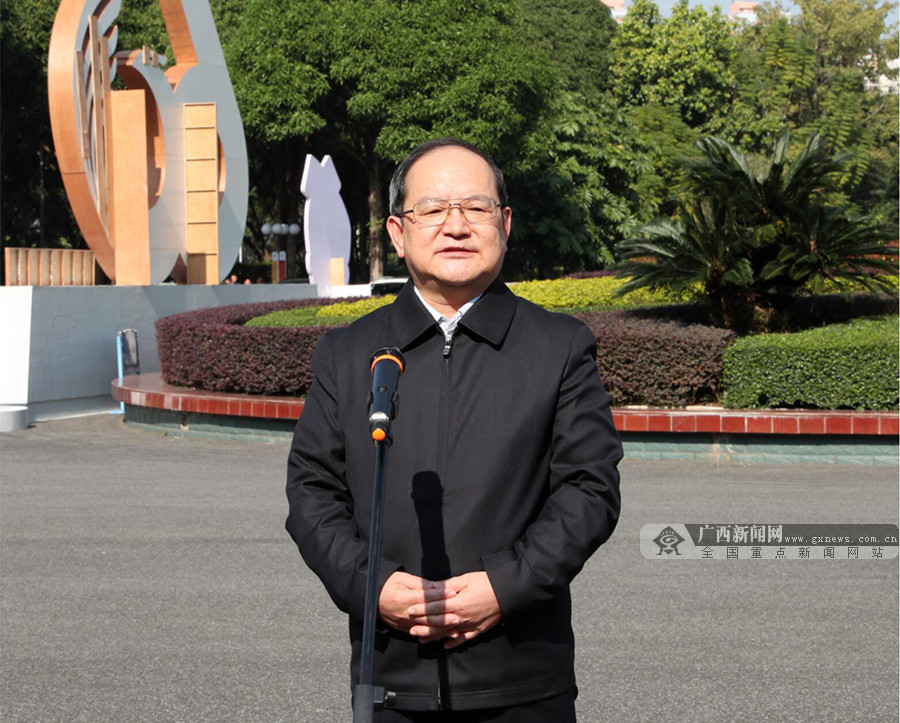 鹿心社陈武接见自治区成立60周年庆祝活动工作人员代表