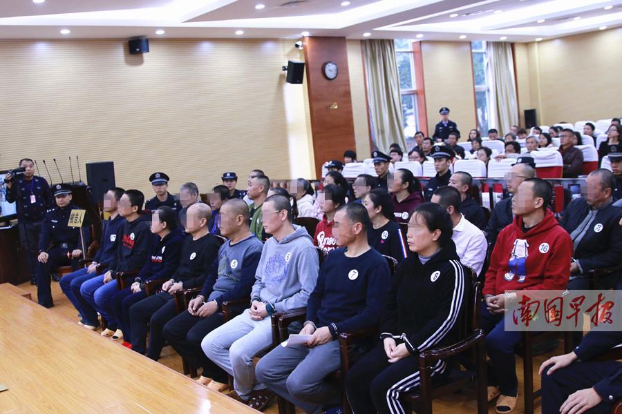 """一传销大案在南宁开庭 24名传销""""老总""""排队受审"""