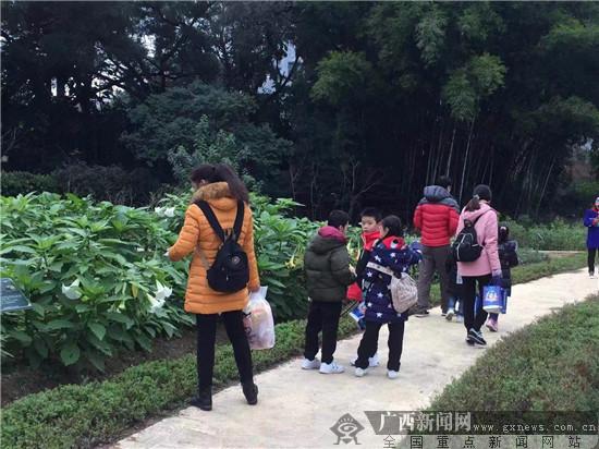 """广西药用植物园举办""""爱要多多陪伴""""活动"""