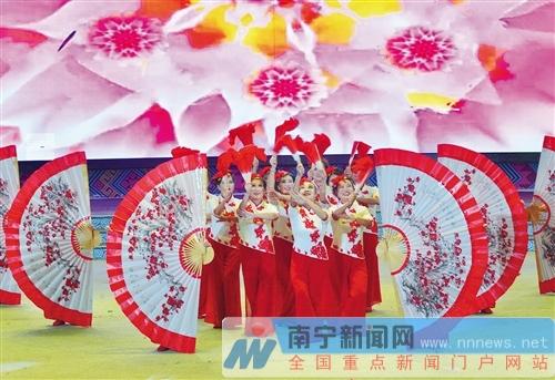 南宁市2018年文化惠民工程提升群众幸福感获得感