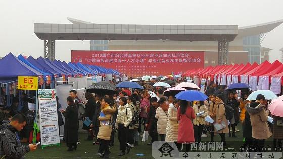 广西高校毕业生综合性双选会教育类单位人才需求旺