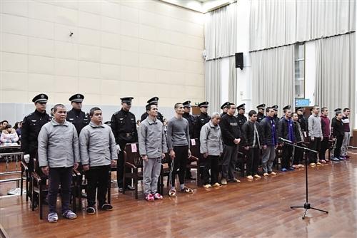法院宣判南宁市伶俐镇涉黑犯罪案