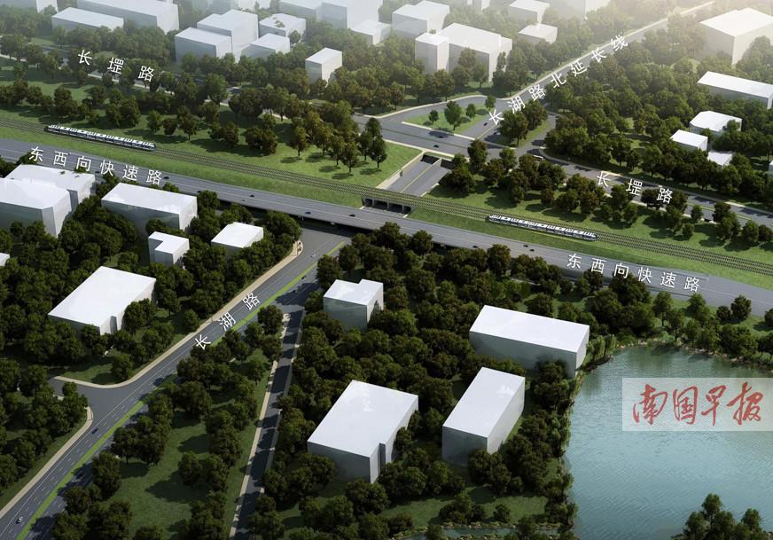 1月18日起 南宁长��路一路段将围挡施工170天(图)