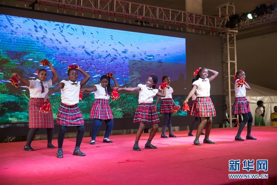 春节庙会给赞比亚带来浓浓中国年味