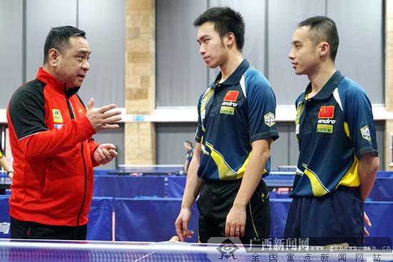 中国砂乒队主教练肖克永:中国队已达世界一流水准