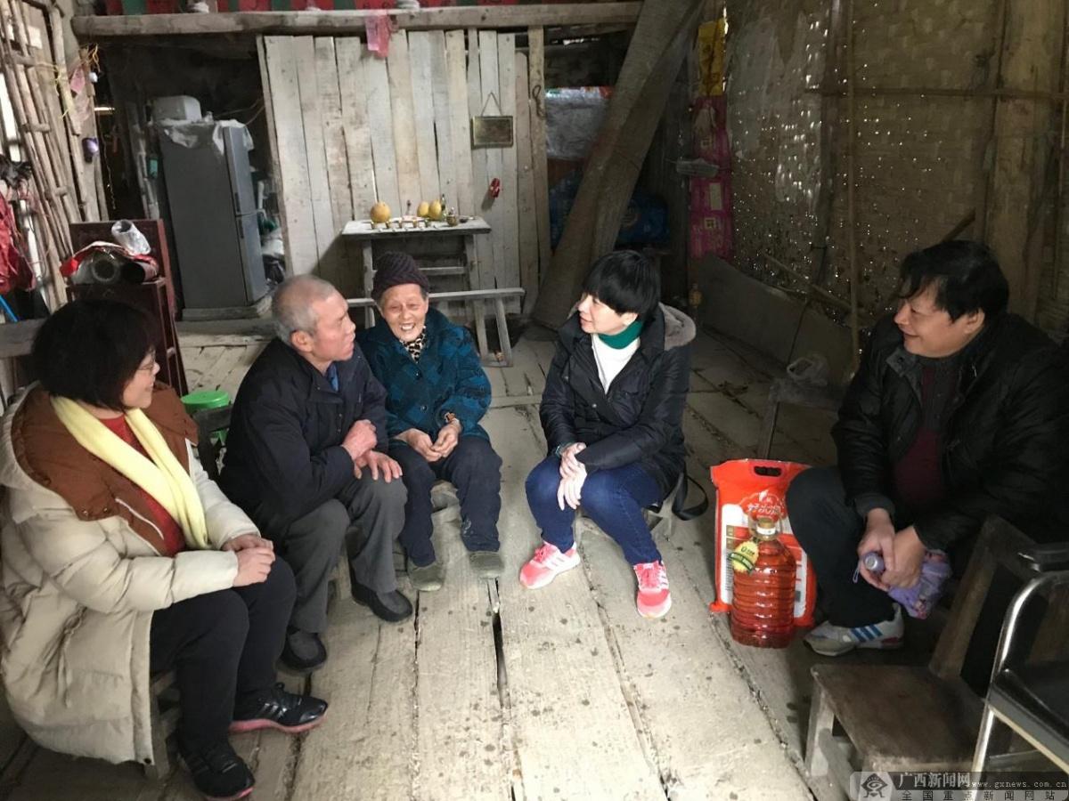 广西建院数九寒天送温暖 访贫困户精准扶贫见真情