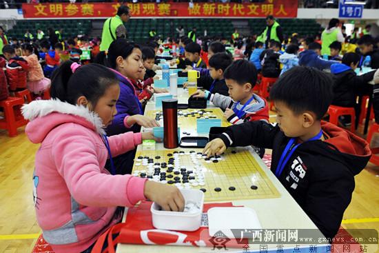 """""""中国体育彩票杯""""2019梧州市少儿围棋锦标赛举行"""