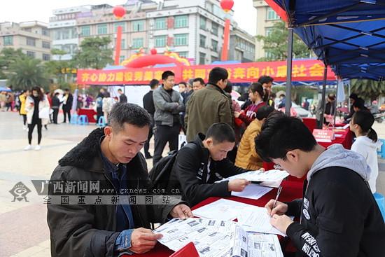 """2019年大化""""春风行动""""启动 提供7000个就业岗位"""
