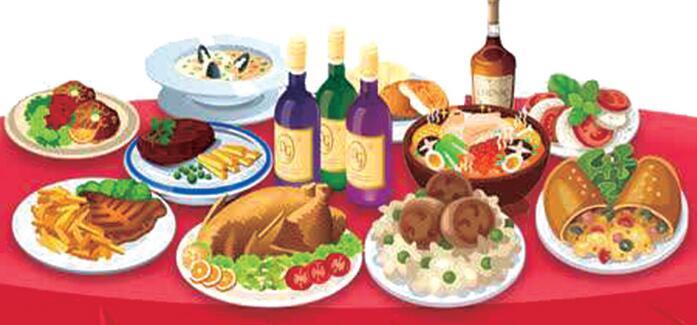 细节吃出健康:聚餐点菜有智慧 保卫肠胃有诀窍