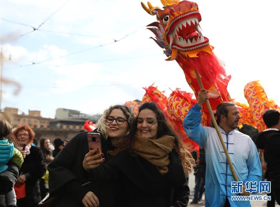 中国年味洋溢罗马