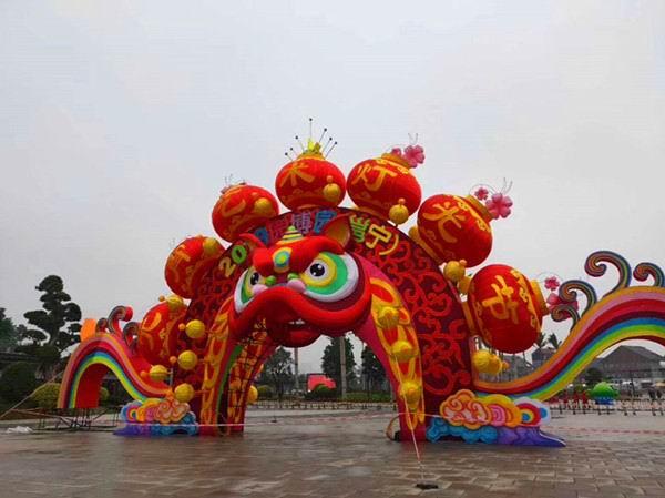 邕宁元宵灯光艺术节将启幕 园博园开放夜间景观