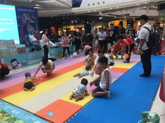 苏宁红孩子加快广西布局 打造全区最大母婴专业连锁店