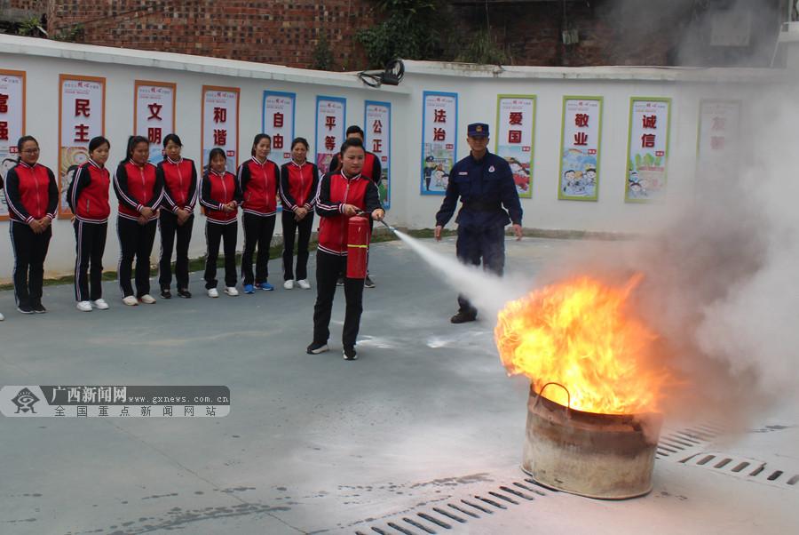 """田林开展消防安全""""第一课"""" 提升师生应急自救能力"""