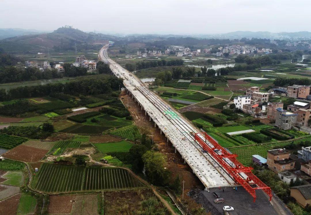 桂林这个县年底将迎来两条高速公路通车(图)
