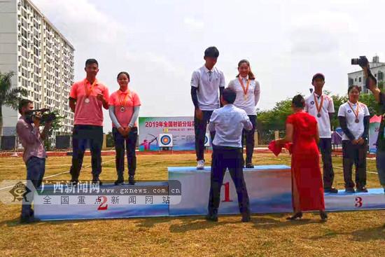 2019全国射箭分站赛首站结束 广西队收获2枚银牌