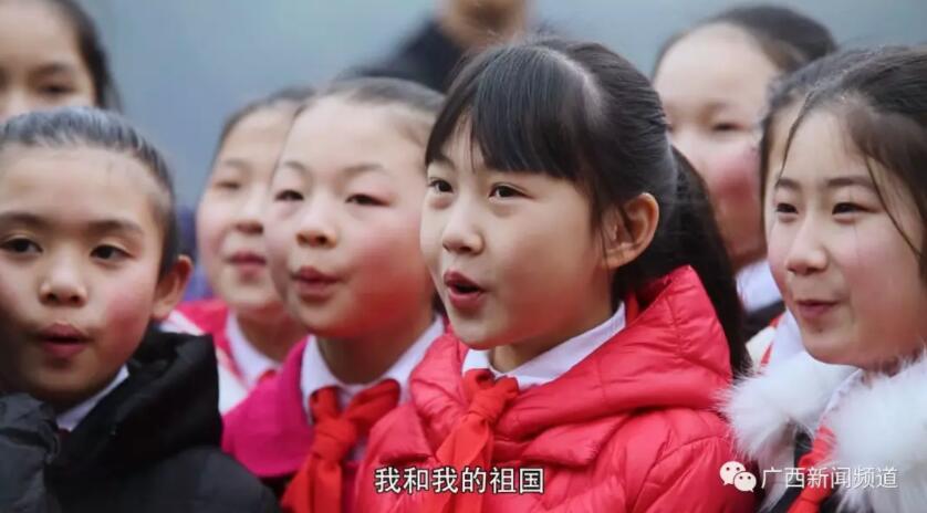 向祖国表白!广西桂林版《我和我的祖国》千人快闪唱响春天