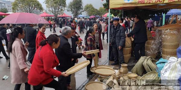 """灌阳""""二月八""""农具节开幕 争取今年消灭贫困村"""