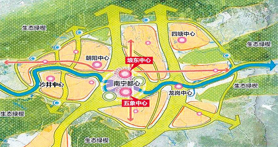 南宁市总体城市设计(草案)报送审批前公示(图)