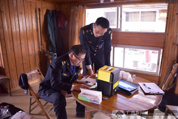 贵港海事局推进船舶大气污染防治监督工作