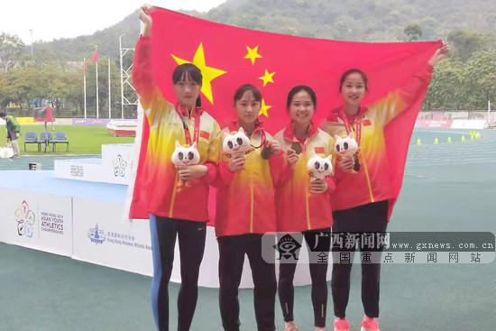 第三届亚洲少年田径锦标赛落幕 广西小将收2金1银