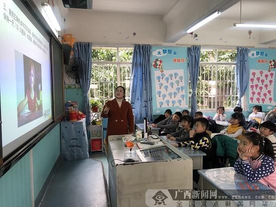 """柳州市红十字会医院""""视力保健课""""走进小学校园"""