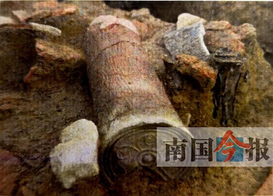 """高清组图:武宣""""勒马古城""""遗址出土""""中溜丞印"""""""