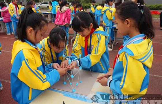 南寧科普志愿者隊深入鄉村學校開展科普教育活動