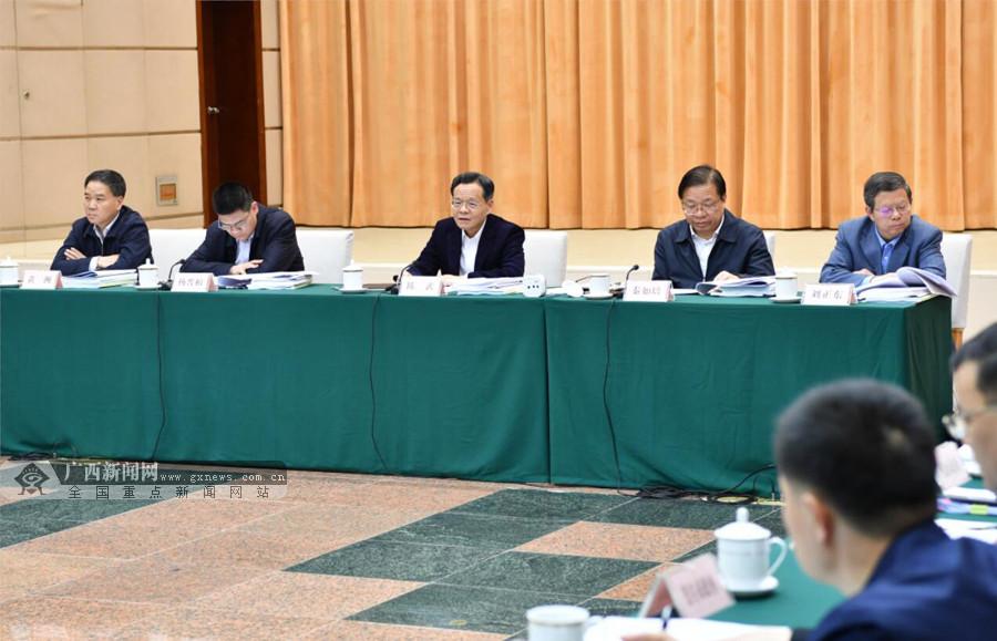自治区政府召开专题会议