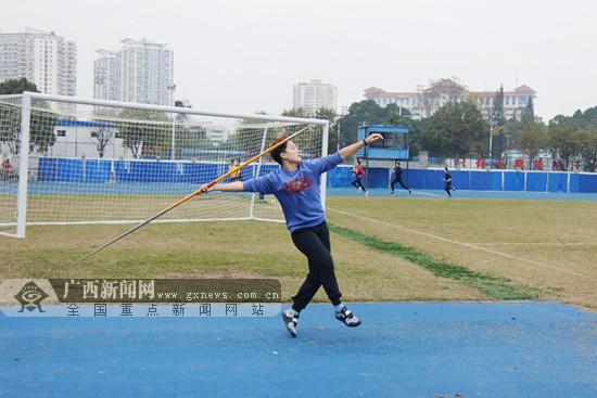 全國田徑投擲項群賽:廣西女子標槍最好成績出爐