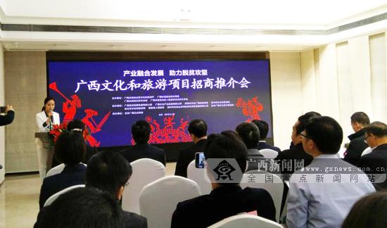 廣西進京舉辦2019年文化和旅游項目招商推介會