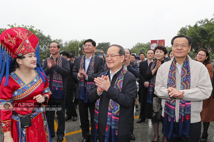 """""""�炎迦�月三·八桂嘉年�A""""拉�_大幕"""