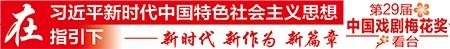 第29屆中國戲劇梅花獎現場競演13日晚在南寧啟幕