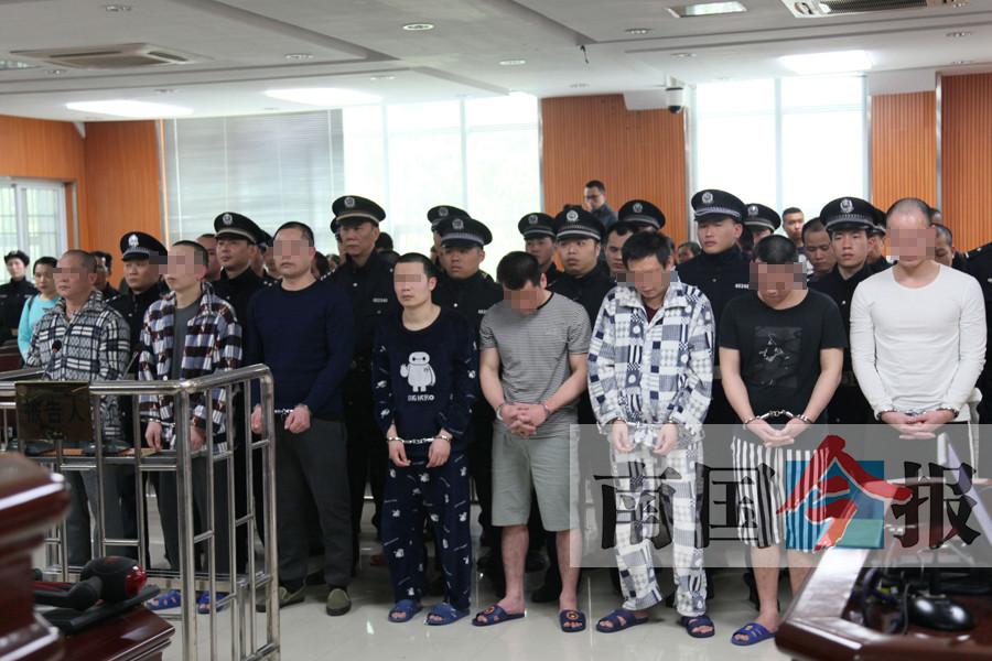 """成立公司招""""马仔""""暴力追债 16名团伙成员均领刑"""