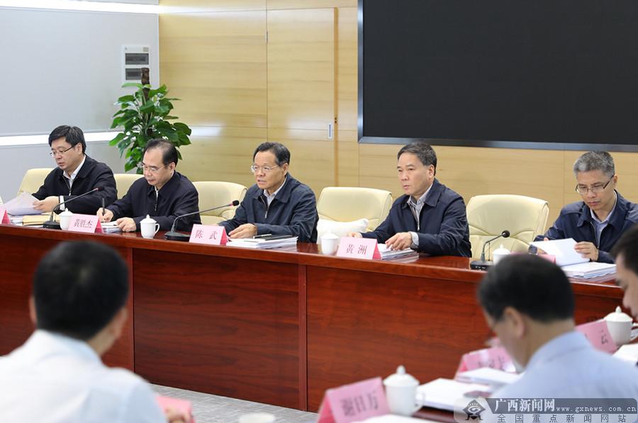 陈武调研中国―东盟信息港建设并主持召开工作推进会