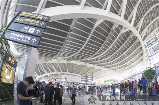 农行桂林分行支持提升空港接待力